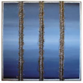 Acrylic and mixed media on linen, New York, 2009